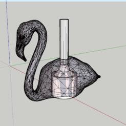 flamenco.PNG Télécharger fichier STL Porte-voix de la shisha flamenco • Plan pour impression 3D, lopezindustries
