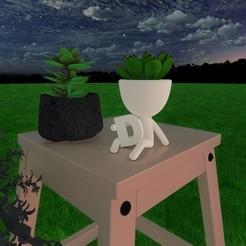 D.jpg Download STL file Robert Plant D • 3D print design, lordf00