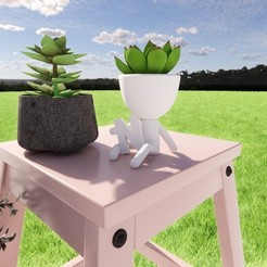 N.jpg Download STL file Robert Plant N • 3D print object, lordf00