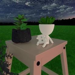 B.jpg Download STL file Robert Plant B • 3D printable model, lordf00