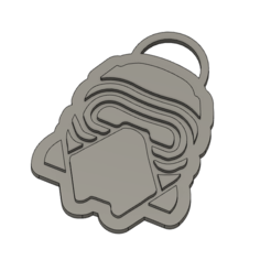 Captura.PNG Download STL file Kylo Ren Keychain • Model to 3D print, dagarna3