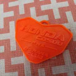 Download free 3D model Honda CB 500 F-R-X Club Keychain, dagarna3