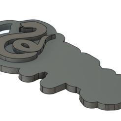 Download STL file Customizable slytherin keychain • 3D printable design, dagarna3