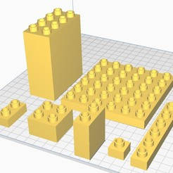 duplo_blocks.jpg Download STL file Big pack of 104 blocks compatible with LEGO DUPLO. • Template to 3D print, vchalupnik