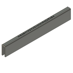ram2.png Download free STL file Cache ram ddr3 ddr4 • 3D print object, gpouilles
