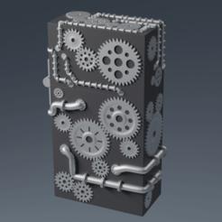 Descargar diseños 3D Caja Steampunk, FinBass