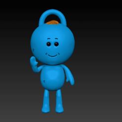 front.png Télécharger fichier STL BEBE RECHERCHE • Design à imprimer en 3D, El_pie_del_hobbit