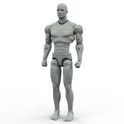 full.jpg Télécharger fichier STL Figurine Hero - 3d Imprimer et personnaliser • Objet imprimable en 3D, 3dheroactionfigure