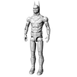 Download OBJ file Batman Michael Keaton Articulated poseable Action figure - 3d Print and customize  • 3D printing template, 3dheroactionfigure