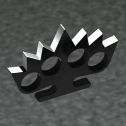 puño americano ESPINAS-Temp0033.png Télécharger fichier STL gratuit MITTEN • Modèle pour imprimante 3D, sergioalbertoortizbarajas