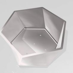 Télécharger fichier STL gratuit pot hexagonal hélicoïdal • Plan pour impression 3D, sergioalbertoortizbarajas