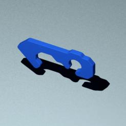 Download free 3D printer model PUSH-BUTTON HOOK, sergioalbertoortizbarajas
