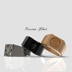 Persian Jewels 3D Model.jpg Download free STL file Persian Jewels • 3D printing template, Jimklien