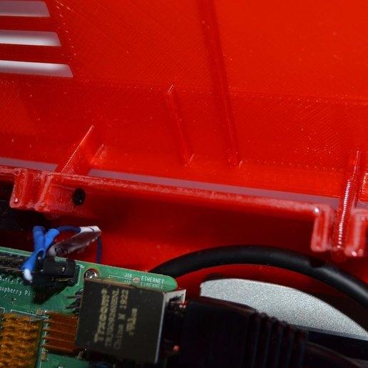 xpi_026.jpg Download STL file Raspberry Pi 4 case XPI • 3D printing template, Steenberg