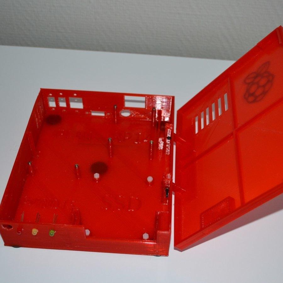 xpi_031.jpg Download STL file Raspberry Pi 4 case XPI • 3D printing template, Steenberg