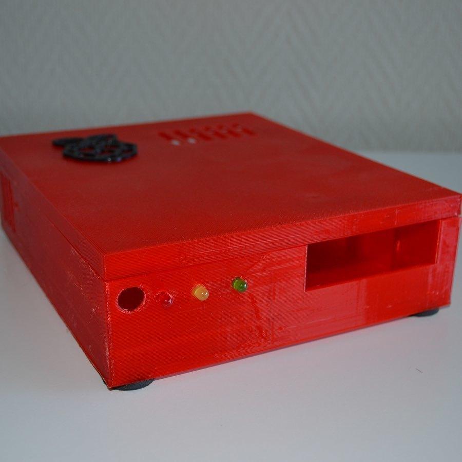 xpi_023.jpg Download STL file Raspberry Pi 4 case XPI • 3D printing template, Steenberg