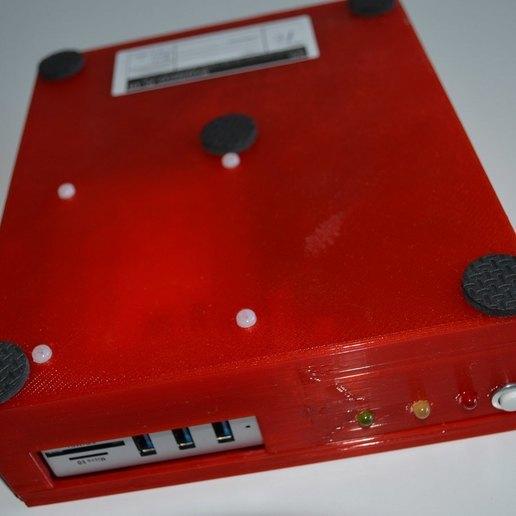 xpi_024.jpg Download STL file Raspberry Pi 4 case XPI • 3D printing template, Steenberg