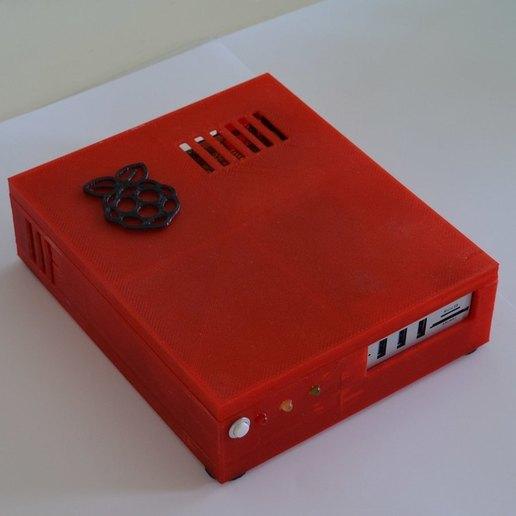 xpi_020.jpg Download STL file Raspberry Pi 4 case XPI • 3D printing template, Steenberg