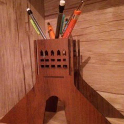 Download free STL file pencil holder • 3D print design, opars1349
