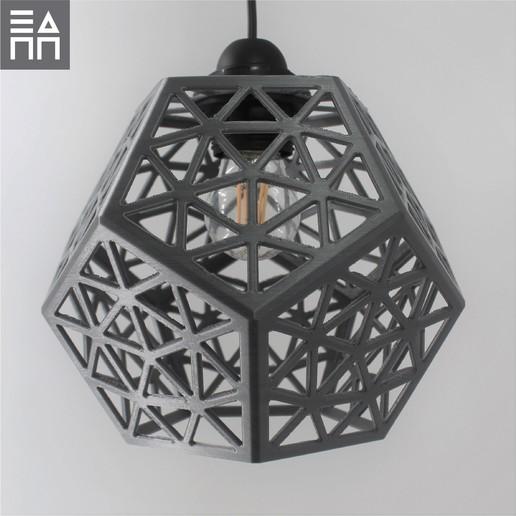 Télécharger objet 3D Ombre de lampe de la forêt platonique, 3DPrintProjectAthens