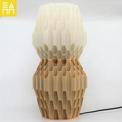 Download 3D printer designs Beehive Desk Lamp , 3DPrintProjectAthens