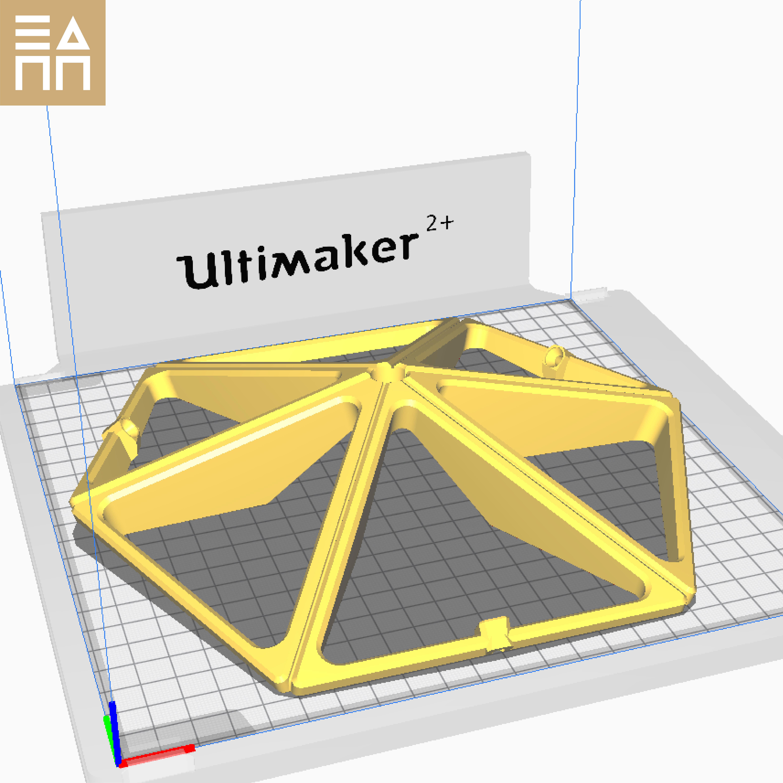 PO Hex.jpg Descargar archivo STL Esfera geodésica de sombra de lámpara • Plan para la impresión en 3D, 3DPrintProjectAthens