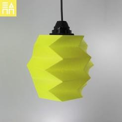 Download STL Reversed Lamp Shade , 3DPrintProjectAthens