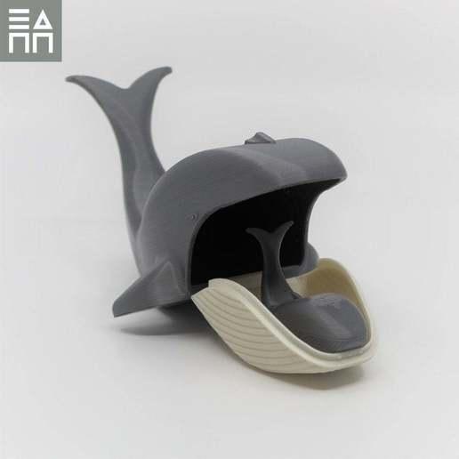 Télécharger fichier STL gratuit Baleine bleue, maman et bébé • Plan pour impression 3D, 3DPrintProjectAthens