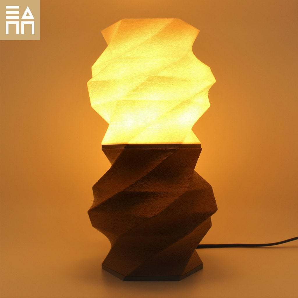 WSG_Front_LOn.jpg Download free STL file Flowing Desk Lamp • 3D print object, 3DPrintProjectAthens
