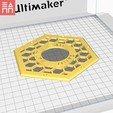 Download 3D printer designs Hidden Honeycomb Light Box, 3DPrintProjectAthens