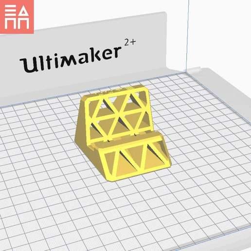 PO.jpg Télécharger fichier STL gratuit Stand de téléphone et de tablette • Objet pour impression 3D, 3DPrintProjectAthens