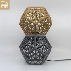 Download 3D model Platonic Forest Desk Lamp , 3DPrintProjectAthens