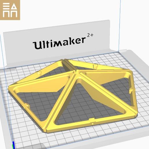 PO Lower Pent.jpg Descargar archivo STL Esfera geodésica de sombra de lámpara • Plan para la impresión en 3D, 3DPrintProjectAthens