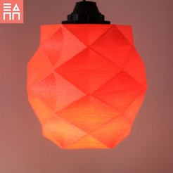 Download STL file Mirrored Lamp Shade , 3DPrintProjectAthens