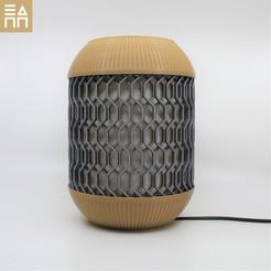 Download STL Links Capsule Desk Lamp , 3DPrintProjectAthens