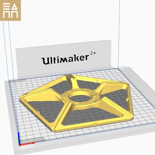 PO Upper Pentagon.jpg Descargar archivo STL Esfera geodésica de sombra de lámpara • Plan para la impresión en 3D, 3DPrintProjectAthens