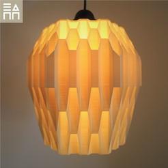 Download STL file Beehive Lamp Shade , 3DPrintProjectAthens