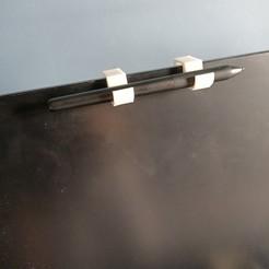Descargar archivo 3D portabolígrafos para la tableta gráfica, hug0p
