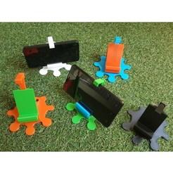 20200618_155355.jpg Télécharger fichier STL gratuit SUPPORT RÉGLABLE POUR SMARTPHONE • Plan pour imprimante 3D, Alexbcn3d