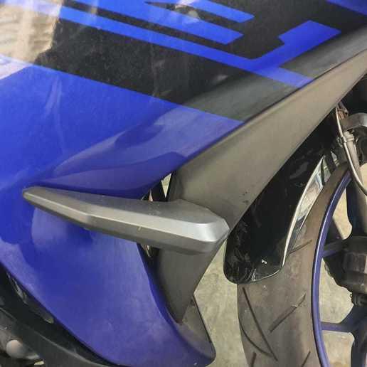 Download de schuifregelaar voor 3D-printerontwerpen voor Yamaha R3 (2015-2019, fabricio_jch