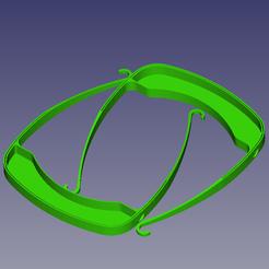 visiere2.png Télécharger fichier STL gratuit Visiere de protection • Design à imprimer en 3D, daniellecoq