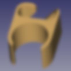 passe cable20.stl Télécharger fichier STL gratuit Passe cable pour pied de micro diam 20mm • Design pour imprimante 3D, daniellecoq