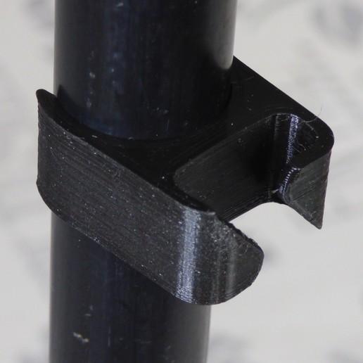 passe cable p0c.JPG Télécharger fichier STL gratuit Passe câble pour pied de micro diamètre 22 mm • Modèle pour imprimante 3D, daniellecoq
