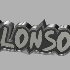 ALONSO.jpg Download STL file ALONSO CHILE • Design to 3D print, librexviii