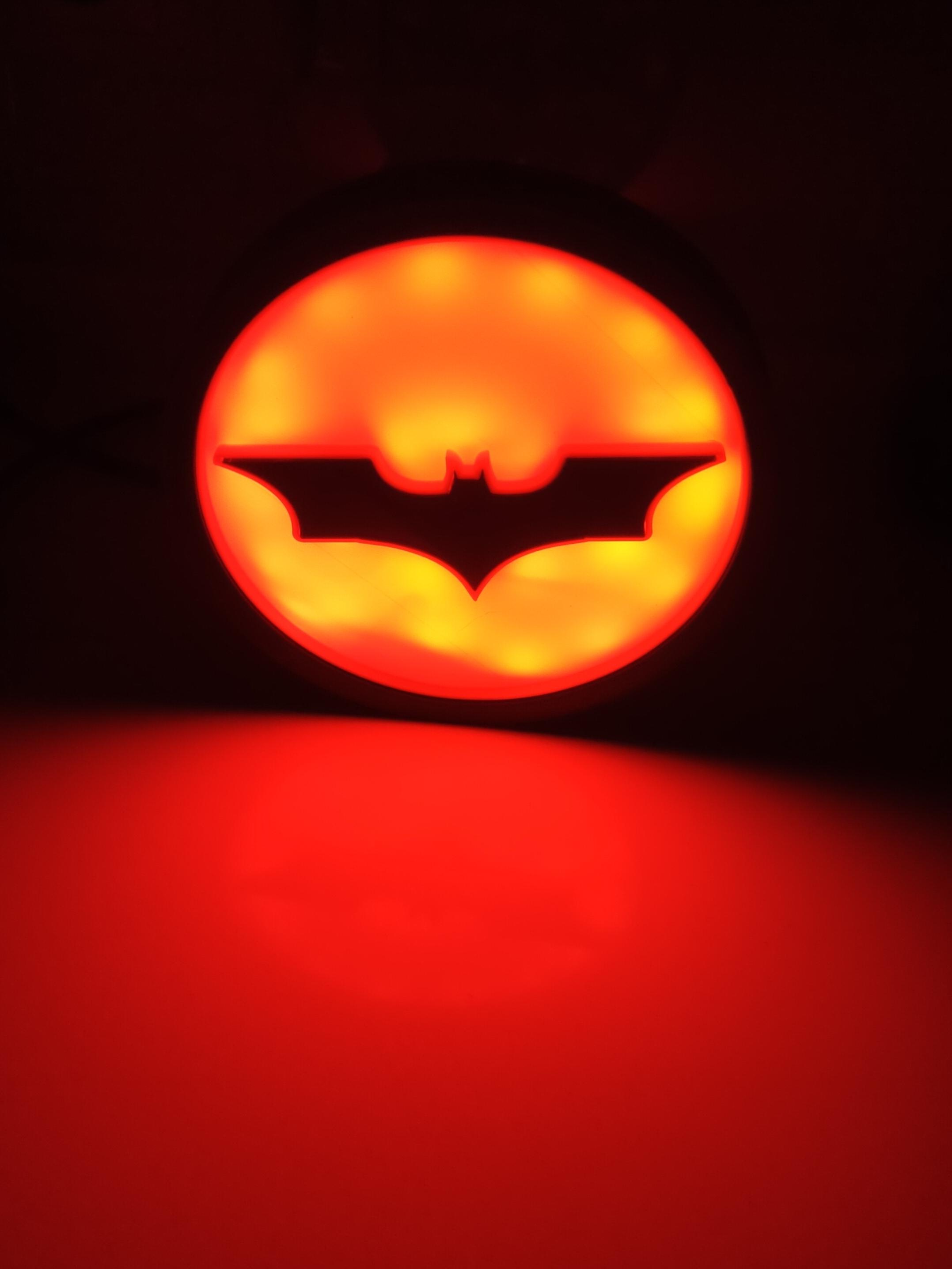 IMG_20210113_212725.jpg Download STL file ILLUMINATED SIGN BATMAN BATSIGNAL • 3D printer model, librexviii