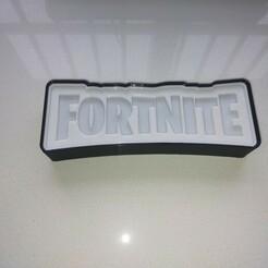 IMG20201211142923.jpg Download STL file ILLUMINATED SIGN FORTNITE • 3D printing template, librexviii