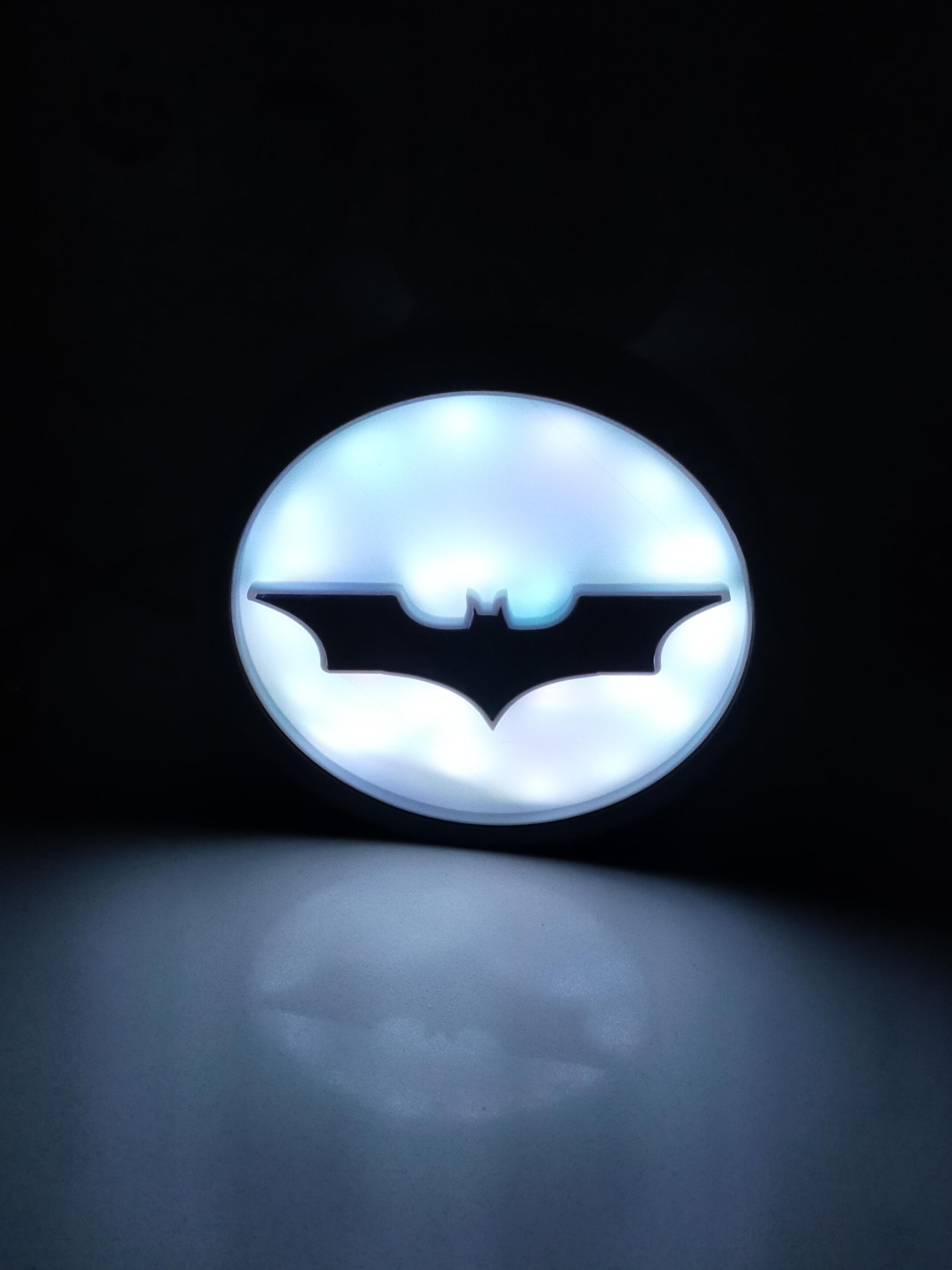 IMG_20210113_212716.jpg Download STL file ILLUMINATED SIGN BATMAN BATSIGNAL • 3D printer model, librexviii