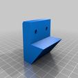 Télécharger plan imprimante 3D gatuit Ender3 Angled Spool Mount, Whitei