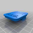Télécharger fichier STL gratuit Stockage des couteaux (Remix - Traceur de stylo à échelle variable) • Plan imprimable en 3D, Whitei
