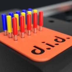 Télécharger fichier 3D gratuit Stockage des couteaux (Remix - Traceur de stylo à échelle variable), Whitei
